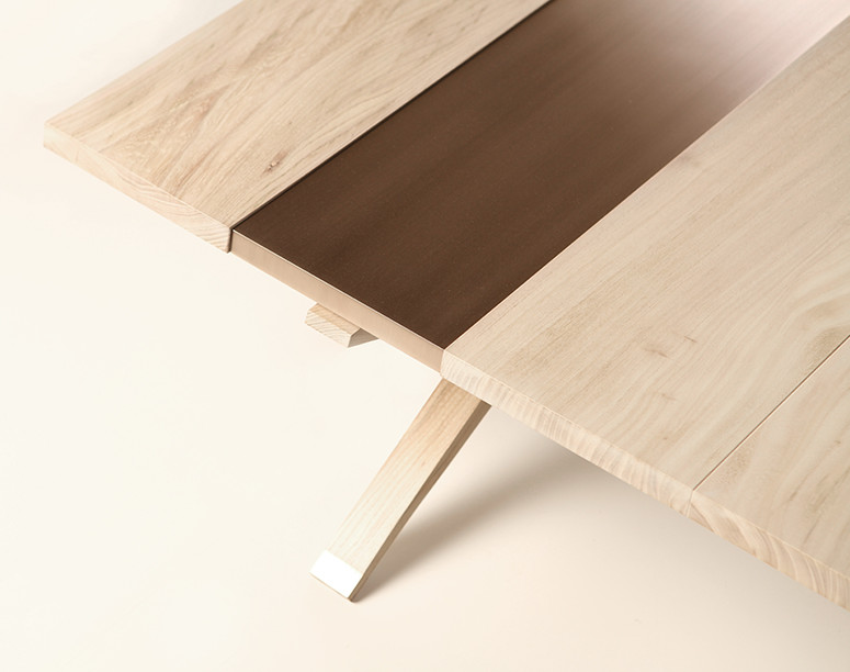 Artistic Elm Coffee Table
